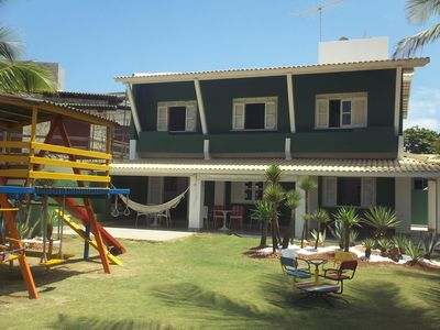 Photo for Beach Front House, 9 bedrooms (6 suítes) near Salvador Airport