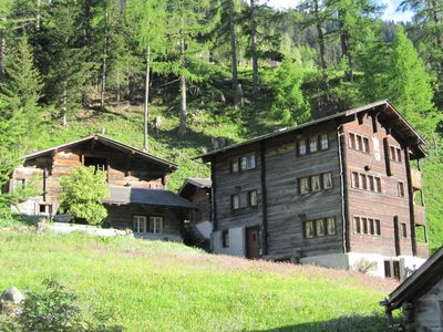 Photo for Chalet St. Michael 2, holiday apartment in the Binntal, Valais