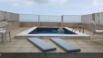 Photo for Penthouse with Private Pool and Sea View