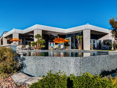 Photo for Private Infinity Pool & Hot Tub | Luxurious Outdoor Living | Concierge Service