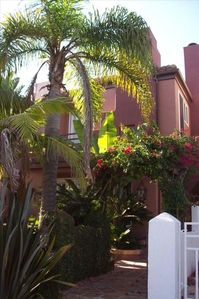 Front Entrance to our Tropical Paradise