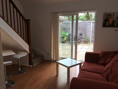 Photo for Cosy one bedroomed house with patio garden in quiet location
