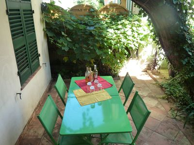 Photo for CITY AND SEA -T3 + patio-Ground Floor Townhouse 1930 - 408 € to 798 € / week