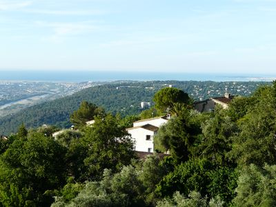 Photo for A flat nestled in a high standard villa with swimming pool sleeps 4 to 6 people