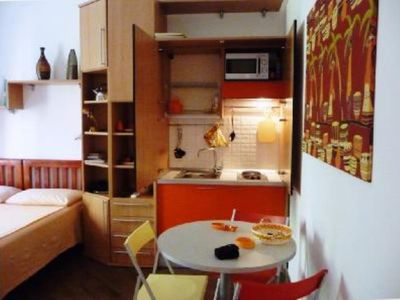 Photo for studio doria 300 metres from S. Peter Square and Sixtine Chappel and 200 meters from bus et subway stop,wi fi