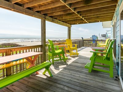 Photo for Dog-friendly waterfront home w/ a shared pool, wet bar, & game room