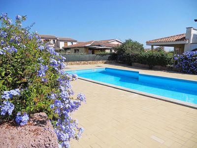 Photo for GARDEN AND POOL VILLAS TWO STEPS FROM THE SEA SAN TEODORO