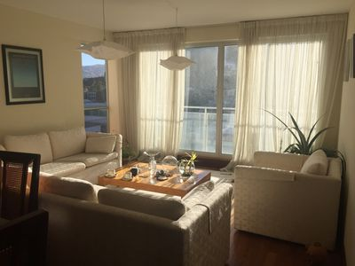 Photo for Beautiful Luxury Apartment, sunny, cozy. Perfect for family or business travel