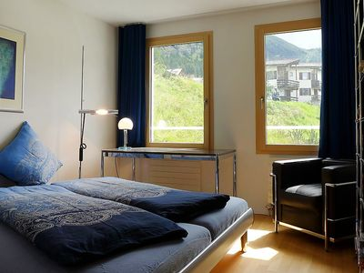 Photo for Apartment 10 m from the center of Pontresina with Parking, Internet, Washing machine, Balcony (280191)