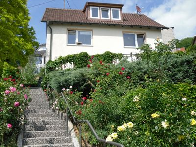 Photo for Apartment for 2-5 people with enchanting views of the Steigerwald