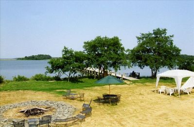 Waterfront Property with 100 foot dock!