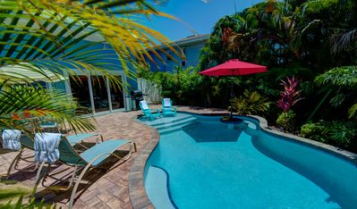 Short Walk to Gulf ☼ Beaches with Private Heated Pool and Winter Savings!