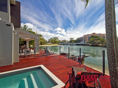 Photo for Luxury 5 Bedroom 5 Bathroom Holiday House Metres From Hastings Street