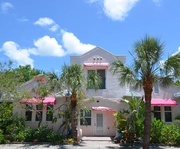 Photo for Delightful, Historic  Spanish Triplex:   Steps From Pass-a-grille Beach