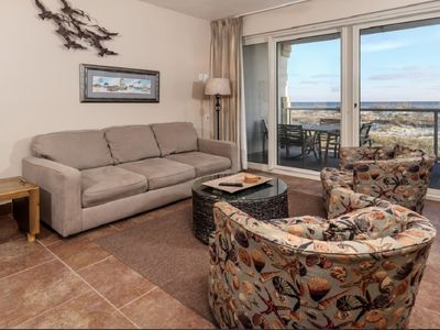 Photo for Romantic Beach Front Condo - Spectacular Views - 2 Heated Pools – Even Sleeps 4