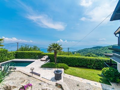 Photo for Authentic Villa Zatka with Sea View near Opatija