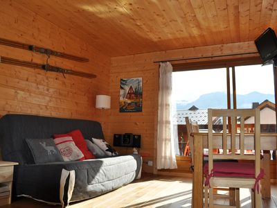 Photo for Charming studio cabin in the heart of the village