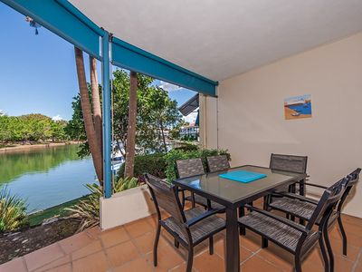 Photo for Canal Front, Pet Friendly in Noosaville, Small Yard
