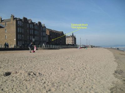 Photo for 2 Bedroom Beach Side Apartment 4.5 km from Edinburgh Town Centre Shopping