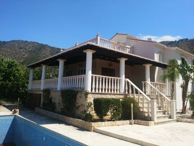 Photo for POMOS HARBOUR VIEW VILLA 3, PRIVATE POOL, FOR FAMILIES WITH KIDS AND COUPLES