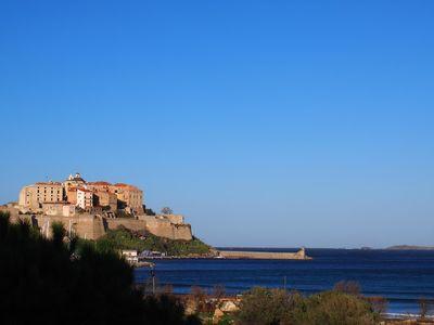 Photo for CALVI, charming T2 sea view and citadel T2-31ROS