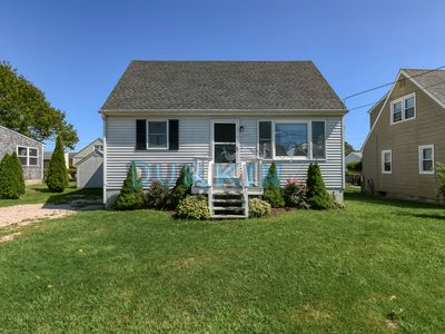 Photo for Cozy Cape, Water View, Close to Beach, Private Yard