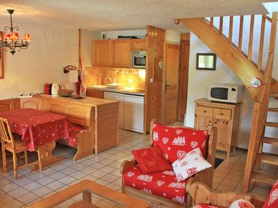 Photo for The residence OURALOU enjoys a quiet location, close to shops and slopes; beside