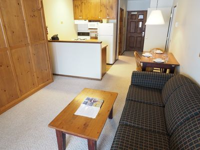 Photo for Ski in/ski out ground floor suite with hot tubs