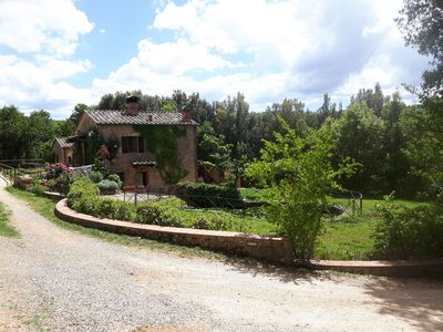 Photo for Entire Tuscan Farm with 2 Houses near Siena Private Pool, PonyHike, Football 12P