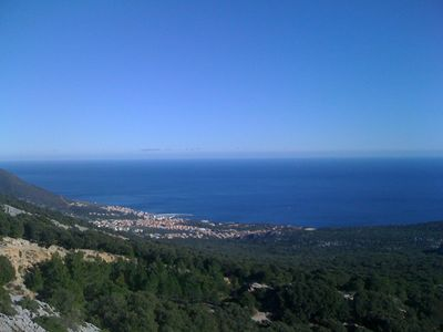 Photo for Apartment in Cala Gonone, sea view, very central !!
