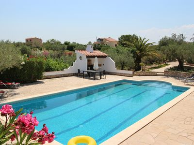 Photo for Beautiful 10,000m2 fenced property with swimming-pool (25m), and olive trees.