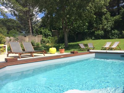 Photo for Architect villa with pool in Montpellier (district Aiguelongue)