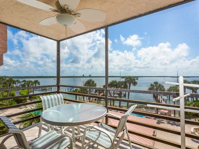 Photo for NEW LISTING! Romantic waterfront getaway, w/ shared pools, hot tubs, & tennis