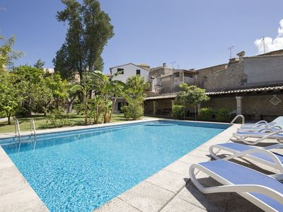 Photo for Stylish authentic Majorcan Mansion in the very heart of wellknown Pollensa town