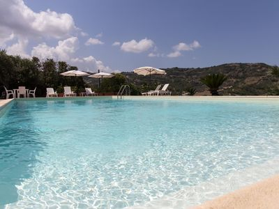 Photo for Wonderful villa with swimming pool in a panoramic position at the gates of the Cilento