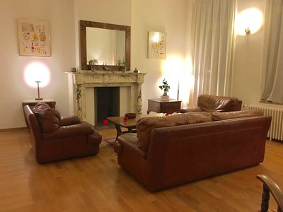 Photo for Elegant 1-Bedroom in Central Brussels, 1,5 bathroom - About 85m2