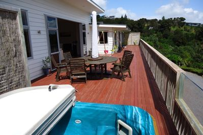 Deck with Spa and Dining