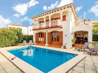 Photo for Situated in a quiet, residential area, Villa Joaquina is just a stroll away from the laid back resort centre of Port Addaya where there are several local restaurants and bars and a great variety of water sports on offer.