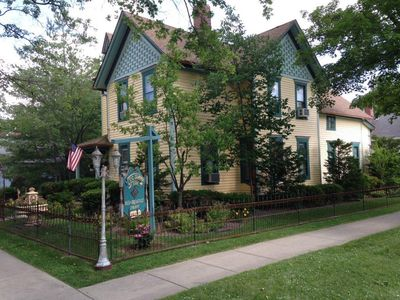 Photo for Private Exquisite Home Voted Top Lake Geneva B&B~Walk to Lake, Beach, & Shopping