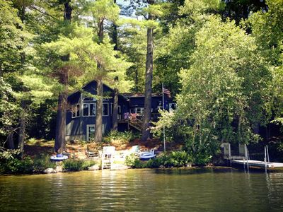 Photo for Waterfront Retreat On Lake Kanasatka Is Perfect For Couples, Families And Pets!