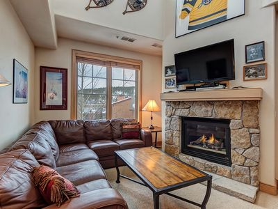 Photo for Steps to Main St Breckenridge, Mountain and Ski Lifts. Private Hot Tub w/ a View
