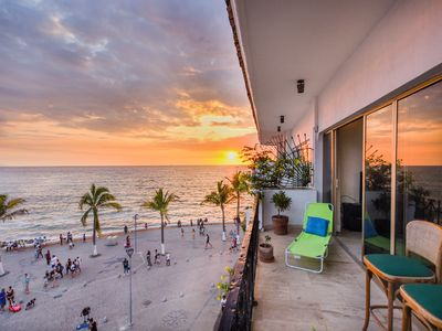 Photo for 304 MALECON OCEANFRONT MEXICAN STYLE CONDO 2BD/2BTH, DOWNTOWN