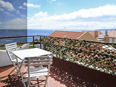 Photo for 1 BR Apartment for 4 by the beach in Sao Pedro Estoril - CHECKINHOME