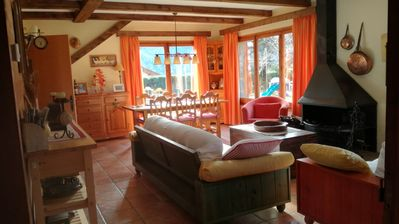 Photo for Ground floor of an isolated rustic house with garden