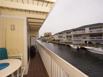 Photo for Free Golf and Activities! On Canal - Harbor Views, Pet Friendly, Sandpiper 4100