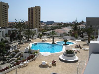 Photo for Summer Specials for centrally located apt, with pool & sea views