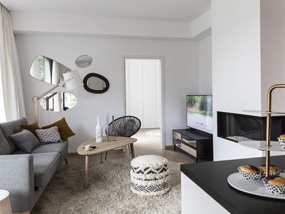 Photo for Unit 1 - Stylish Smart Home with Private Parking