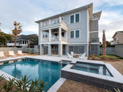 Photo for 'Coastal Manor' NEW CONSTRUCTION! Ocean Views, Private Pool and Hot Tub, Elevator!