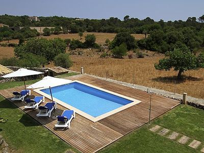 Photo for Vacation home Mascaro in Manacor - 8 persons, 4 bedrooms