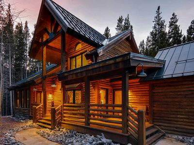 Photo for Peaceful Breckenridge Retreat Offering Privacy, Outdoor Hot Tub & Large Deck!